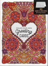 Color-Your-Own Greeting Cards by Caitlin Keegan (2016, Paperback) - $14.96