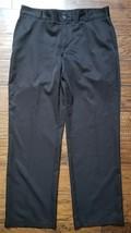 Mens Adidas Black Climalite Pants Sz 34 Inseam 32, Very Nice! - $19.79