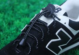 Lock Laces Elastic laces No Tie Shoelaces Triathlon Running Elasticated ... - $2.58+