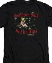 Labyrinth Goblins took my brother Retro 80s Sci-Fi movie graphic tee LAB124 image 3