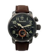 TIMBERLAND MASCOMA Black Dial leather Strap Quartz Mens Watch TBL.14783J... - £94.22 GBP