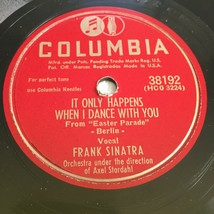 Frank Sinatra A Fella with an Umbrella / Dance with You 78rpm Columbia 3... - $27.50