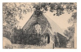 NJ Haddonfield Episcopal Chuch Vintage Collotype 1948 New Jersey Postcard  - $7.99