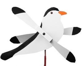 CHICKADEE WIND SPINNER Amish Handmade Whirlybird Weather Resistant Whirl... - $98.40 CAD