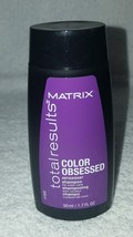 Matrix Total Results COLOR OBSESSED Antioxidant Shampoo Care 1.7 oz/50mL... - $6.92
