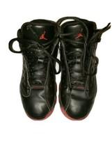 Air Jordan 13 XIII Retro Dirty Bred Sneakers Black Red 414575 003 Size 3... - $28.04