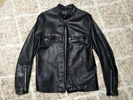 BUCO Auth Vintage Steerhide Leather J-100 Single Riders Jacket Size 42 #555 - $1,999.99