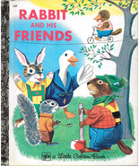 RABBIT AND HIS FRIENDS (1974) Little Golden Books EXCELLENT! - $9.99