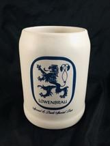 "LOWENBRAU Special & DARK SPECIAL BEER Mug 5"" gray and blue - $14.85"