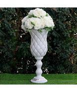 Crystal Bead White Wedding French Columns Mirror Mosaic Deco YSefa - $185.89