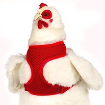 Valhoma Chicken Harness Hen Size Red - $14.78