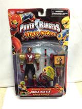 Power Rangers Ninja Storm Crimson Thunder Battle MMPR 2003 - Sealed w/ wear - $44.99