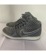 NIKE VANDAL HIGH HI Sneakers Premium 366727-001 Grey Checked Checkerboar... - $64.32