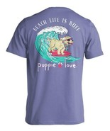 New PUPPIE LOVE Beach Life is Ruff  T SHIRT - $22.76+