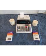 Sharp EL-1197III Heavy Duty 12-Digit Color Printing Calculator With Extras  - $38.66