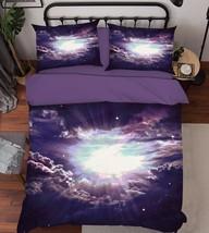 3D Bright Sky 21 Bed Pillowcases Quilt Duvet Cover Set Single Queen King Size AU - $64.32+
