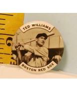 1950's PM10 Original Ted Williams Boston Red Sox Button EX - $24.26