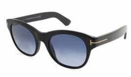 Tom Ford Femme Lunettes de Soleil Ovales FT0532 01W Noir Cadre Plastique... - $168.28
