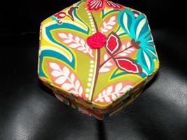 Vera Bradley Jewelry Box Floral Provencal Treasure Keeper Organizer NEW ... - €33,15 EUR
