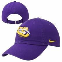 Nike LSU Tigers Ladies Campus Classic Adjustable Performance Hat - Purple - £13.57 GBP