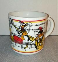 BUY 1,1 FREE (READ) Disney Fisherman's Wharf Mug / Mickey Mouse Donald Duck RARE - $29.69