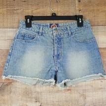 Paris Blues Jean Shorts Junior Women's Size 5 Cutoff Acid Washed Blue  DI4 - $8.41