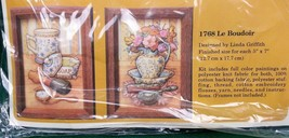 Creative Circle Stitchery Kit 1768 Le Boudoir 1984 USA Arts & Crafts Decor NEW - $11.38