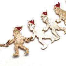Silver Bracelet 925, Seven Dwarfs in Row, Jewelry le Favole image 3