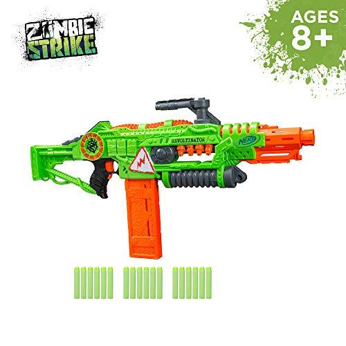 Primary image for Revoltinator Nerf Zombie Strike Toy Blaster with motorized Lights Sounds & 18 Of