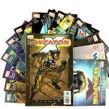 Weapon X Comic Book Lot 15 Issues Marvel VF 2002 Series #1 Sabretooth Wolverine - $24.70