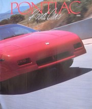 1988 Pontiac Road Cars Brochure, Grand Prix Grand Am Bonneville Fiero Fi... - $5.69