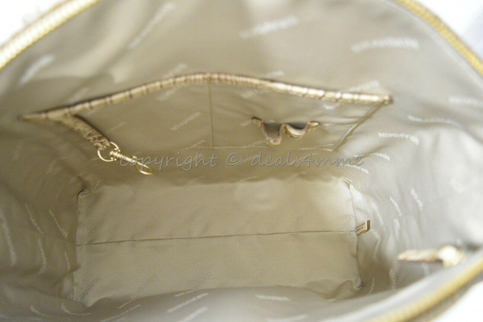 NWT Brahmin Large Duxbury Satchel/Shoulder Bag in Candy Apple Carlisle image 5