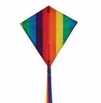 "Rainbow Stripe Diamond Kite 18"" x 19"" with Free Shipping - $8.99"