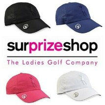 Surprizeshop Lady Golfer Soft Fabric Golf Cap. Pink, White, Blue or Black. - $25.76