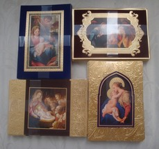 40 Hallmark Christmas Cards + 40 Envelopes  Renaissance Art Embossed w F... - $24.95