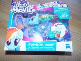My Little Pony The Movie Rainbow Dash Flip & Flow Seapony Action Figure ... - $18.00