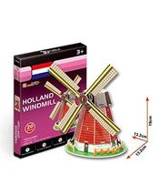 PANDA SUPERSTORE The Dutch Windmill Three-Dimensional Building Manual Assembly P