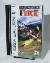Black Fire Sega Saturn With Case Complete CIB  - $24.18