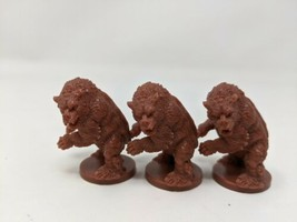 WRATH OF ASHARDALON Dungeons and Dragons Miniature D&D CAVE BEAR Lot Of 3 - $9.99