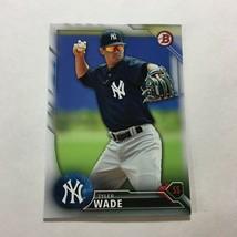 2016 Bowman Baseball Prospects #BP106 Tyler Wade New York Yankees - $3.71