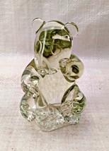 Heavy Crystal Panda Bear Figurine - $7.91
