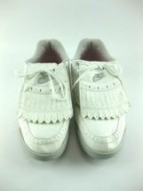 Nike Women Golf Shoes Size 9.5 White 910305 JS - $31.49