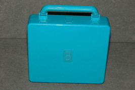 Nintendo DS: Aqua Blue System Carrying Case Hard Shell 7x6 - $11.00