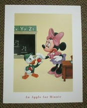 Disney Art Print Poster - Walt Disney An Apple For Minnie 16 x 20 Poster - $29.03