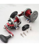 LEFT Hand Omoto Talos TS12N Fishing Jigging 25# Compact Reel Ocean/Fresh... - $179.95