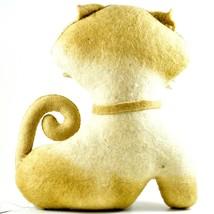 Silk Road Bazaar Handmade Felted Friends Clever Cat Kitten Stuffed Toy Animal image 2