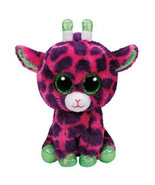 "Pyoopeo Original Ty Boos 10"" 25cm Gilbert the Giraffe Plush Medium Big eyed Stuf - $10.99"