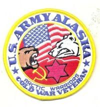 US Army Alaska Arctic Warriors Cold War Veteran Sticker NEW!!!! - $9.89