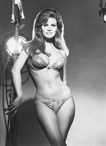 Raquel welch 24x36 poster black and white