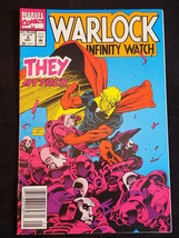 Marvel Comics Warlock And The Infinity Watch N0. 4 May 1992 Graphic Novela - $3.95